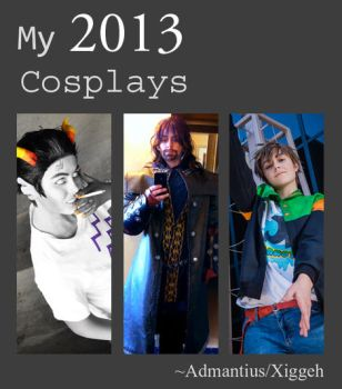 2013 Cosplays by Admantius