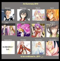 - Art Summary 2010 - by Restless-Dreamer