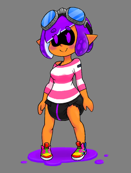 CrInkling Val (Splatoon 2 vers.) by Shima-pad