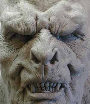 orc face close up... by dreamfloatingby