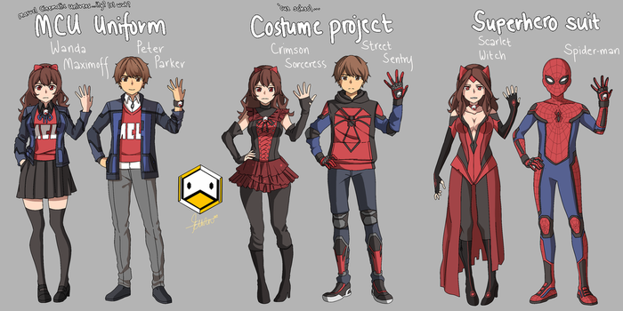 My Marvel Academia...LOL wtf by DuckLordEthan