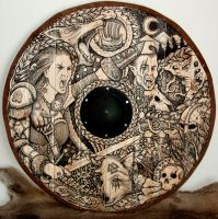 Maiden Viking Shield by ZawArt