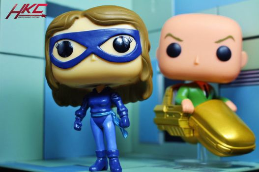 Custom Funko Pop! Shadowcat Kitty Pryde by HKC by hunterknightcustoms
