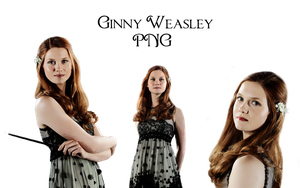 GINNY WEASLEY PNG'S by Miss-deviantE