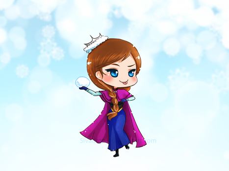 Frozen - Anna Letting It GO! by slvadrgn