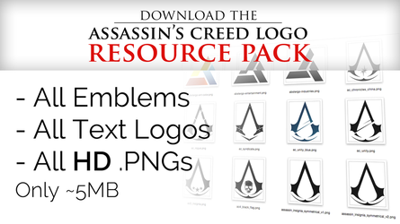 Assassin's Creed Logo Resource Pack by irakli008