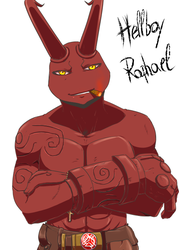 Hellboy Raph by KameBoxer
