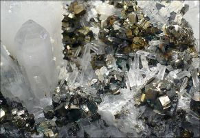 Quartz Chalcopyrite by Undistilled