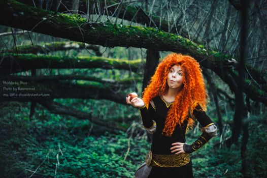 Merida it's apple time by shua-cosplay
