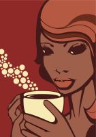 Princesse Africaine - Coffee by XnBook