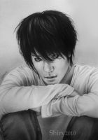 L:Death Note by sheeroo3
