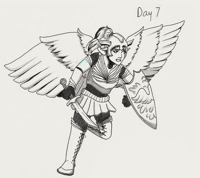 Day 7 - Valkyrie by Turq-I-Taq