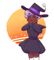 Sunset Witch by Sangled