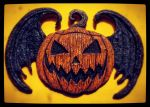 Spirit of Halloween wall plaque by JasonMcKittrick