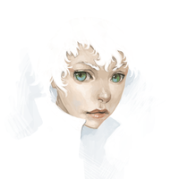 Angel Face by mehchall