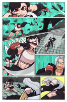 Ff7 Tifa Vs Sephiroth part 1 by Dansome0203