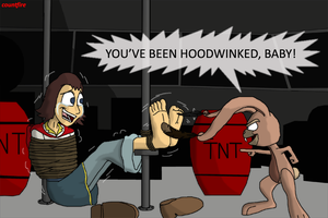 Hoodwinked and tickled by countfire