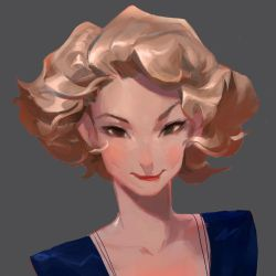 Queenie by samuelyounart