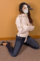 Gal Gadot gagged and jacketed by MarvinQuickscopes