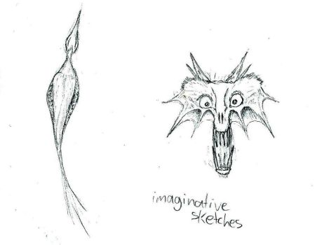 Creature Sketches by TeeIeEm