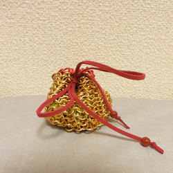 Chainmail Dice Bag by doux-merise