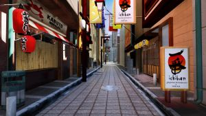 Alley Away by stanmoua