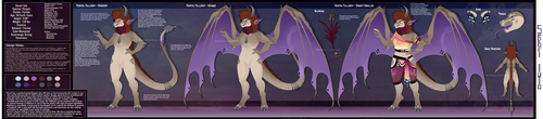 [Design] Keyword Result : Pangalactic Manticore by Solar-Paragon