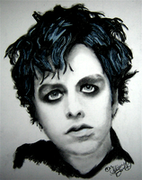 billie joe armstrong by flamingpie