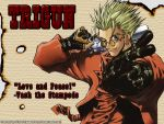 Trigun Wallpaper by Lupehx