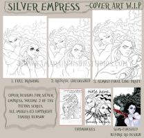 Volume 2, Silver Empress Cover Redesign by briescha