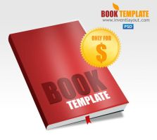 Book Template PSD by atifarshad