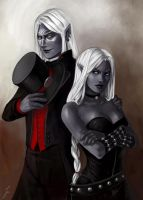 Commission: Suresh and Chaiyah by iara-art