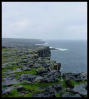 At The Cliff Edge of Ireland by eduffe
