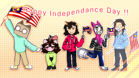 Happy 61st Independence Day!! by WaffleBunnyPie