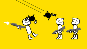 Zero Punctuation Glomp Attack by sinned2bsaved