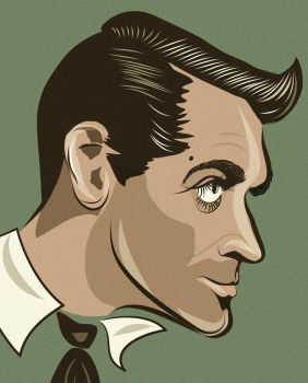 Cary Grant by dccanim