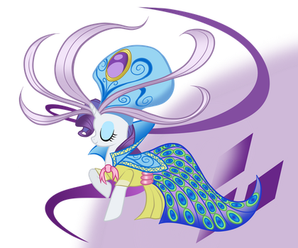 Rarity's Dress Realized by SouthParkTaoist