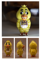 SOLD OUT: Chica Fan-Figurine by CassowaryRoom