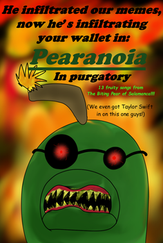 Pear in purgatory as a bad album cover! by Charlemagne1
