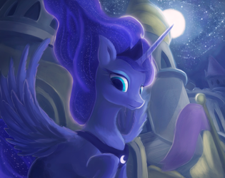 Luna by Rodrigues404