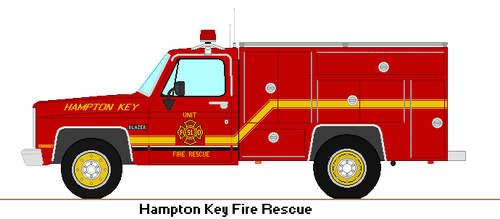 HKFD Chevy Rescue Truck by DonaldMoore909
