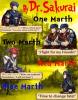 1 Marth 2 Marth Book Cover by Leafpenguins