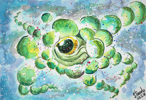 Second Yog Sothoth painting by SulaimanDoodle