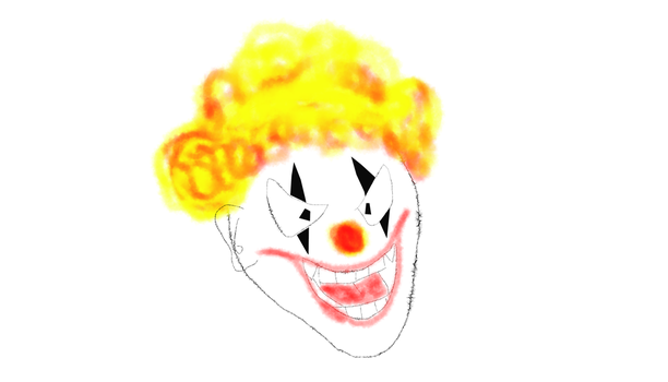 Clown2 by Super-green-ray