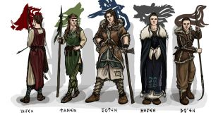 Black Isle Tribes by My-Sword-is-Bigger