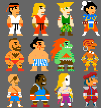 Super Street Fighter Bros II by torokun