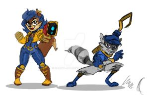 Cops and Robbers by Danny-Jay