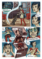 Hollow City, Fight 13, Page 1 by Antihelios