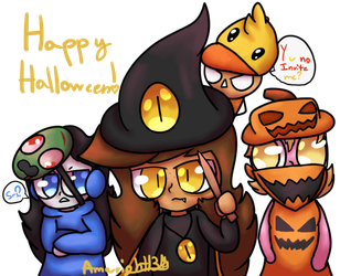Happy Halloween! by Amwright13