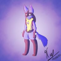 Lucario practice 2 by Xael-The-Artist